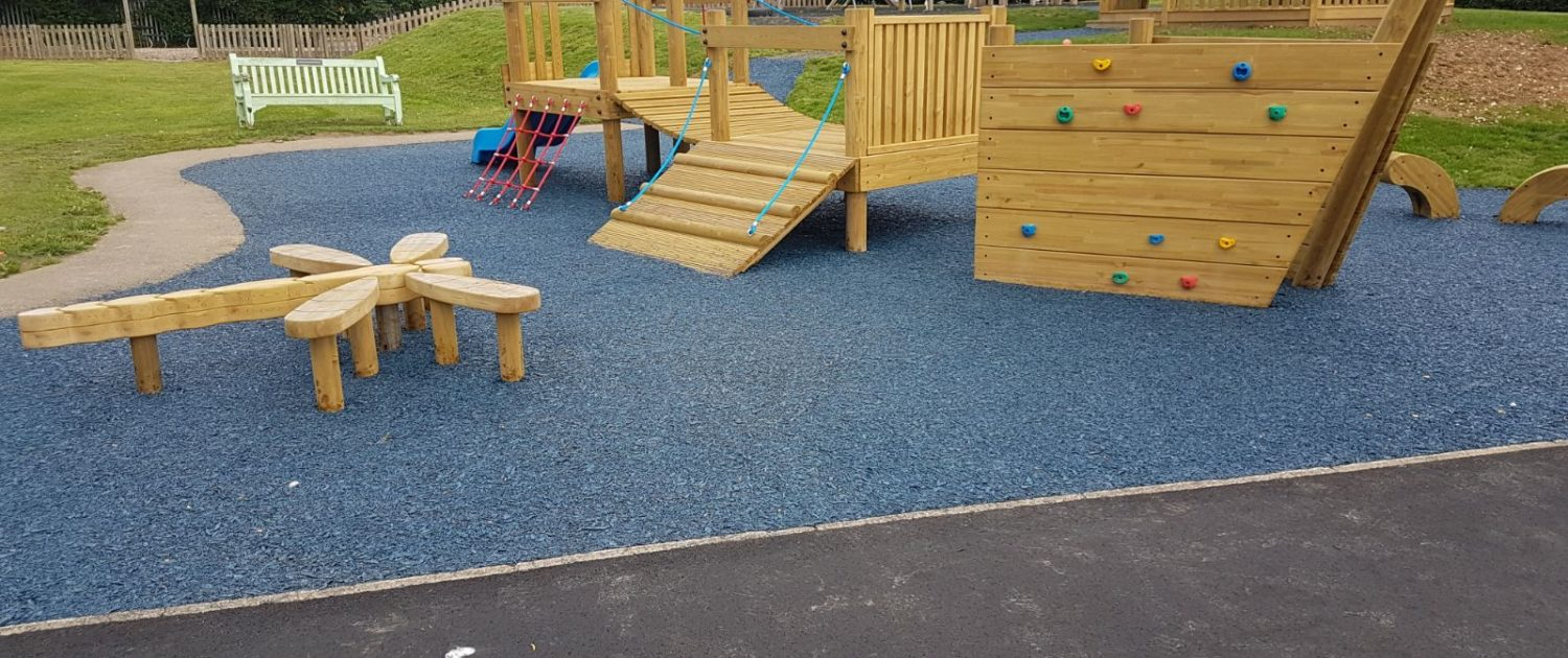 Rubber Mulch Surfacing