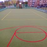 Sand filled carpet for Multi Use Games Area (MUGA) inIslington, London