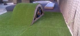 80m² artificial grass in Weston Super Mare