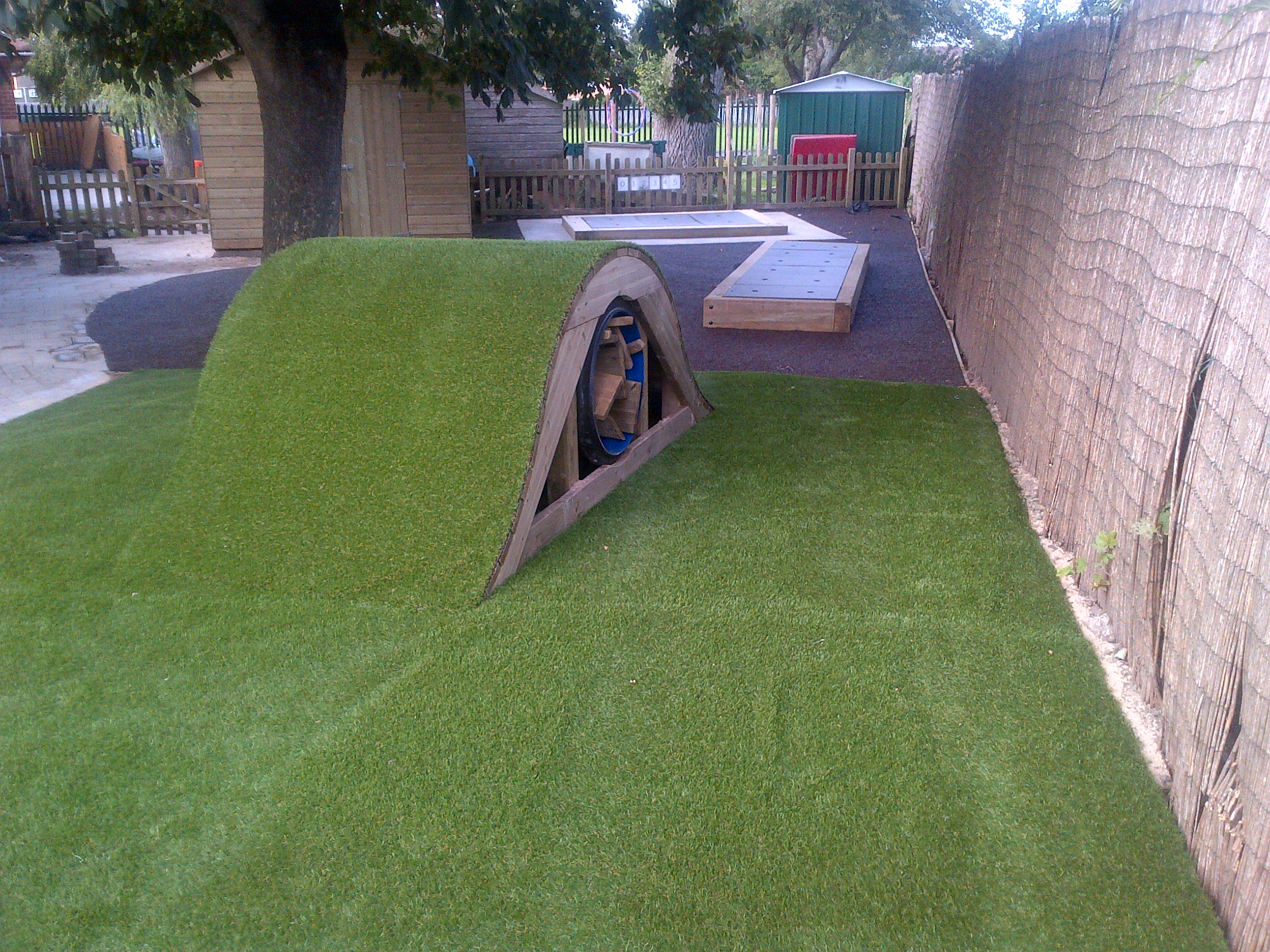80m² artificial grass in Weston Super Mare