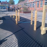 82m² black wetpour in Bristol