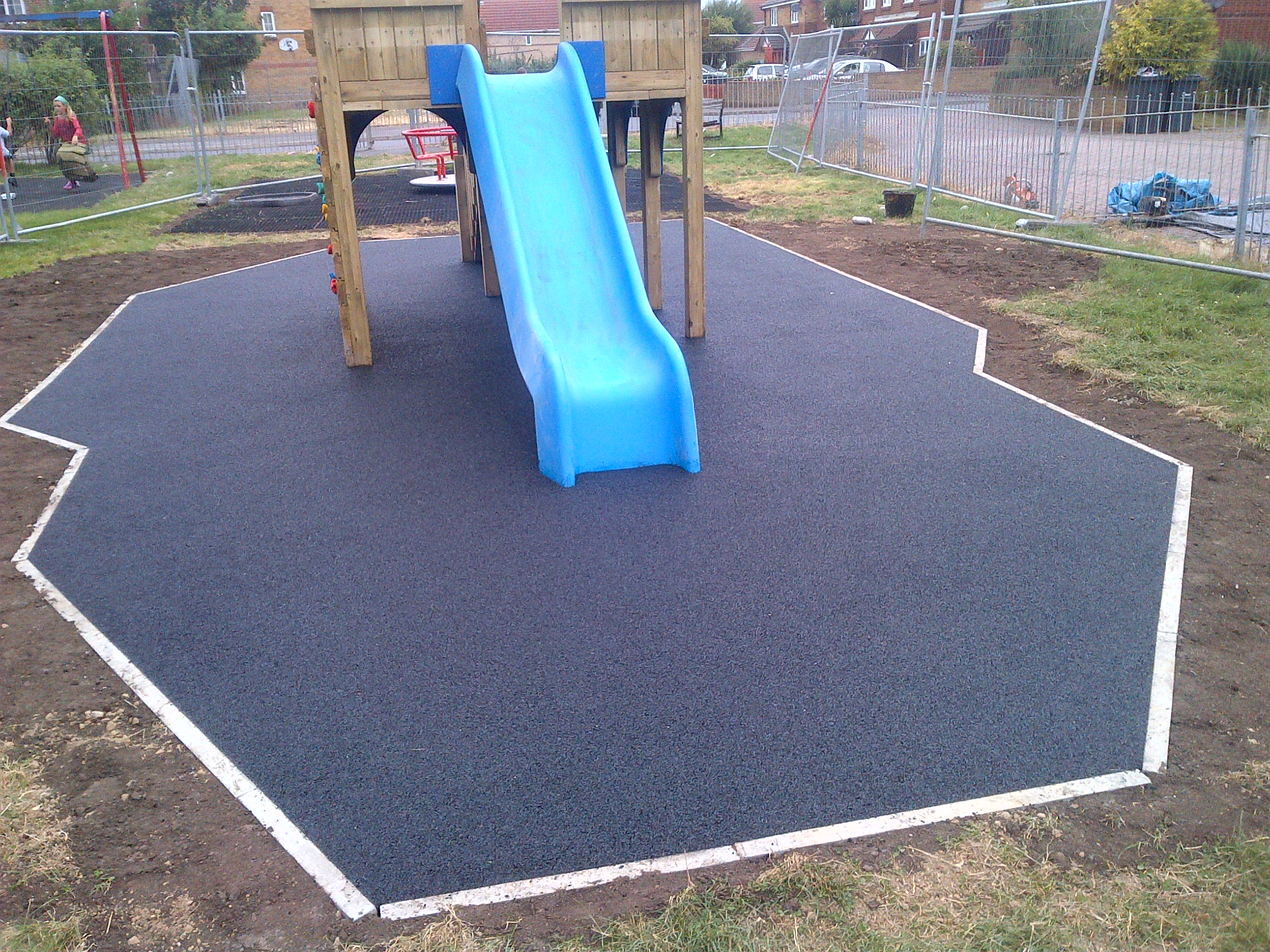 40m² black wetpour in Hayling Island, Havant, Hampshire