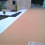 953m² Addagrips resin bound surfacing to pathways in Blackburn, Lancashire