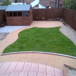 100m² Resin bound paths and patio in West Kirby
