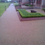 Resin bound surfacing in Ordsall, Greater Manchester